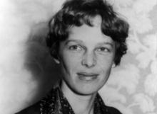 Amelia Earhart (um 1928)